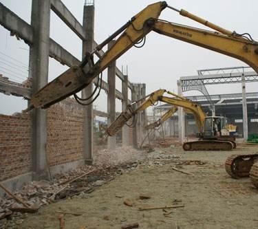 苏州无锡厂房拆除