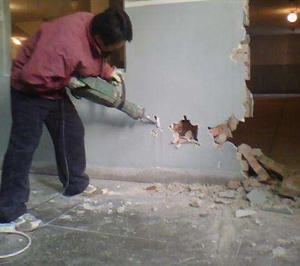 无锡无锡酒店墙体拆除