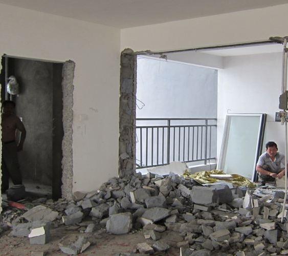 无锡无锡宾馆墙体拆除