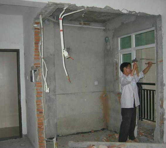苏州无锡承重墙拆除