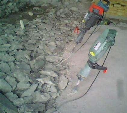 苏州无锡水泥地面拆除