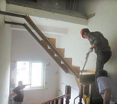 苏州无锡拆楼梯
