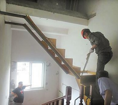 常州无锡拆楼梯