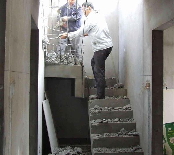 苏州无锡楼梯拆除