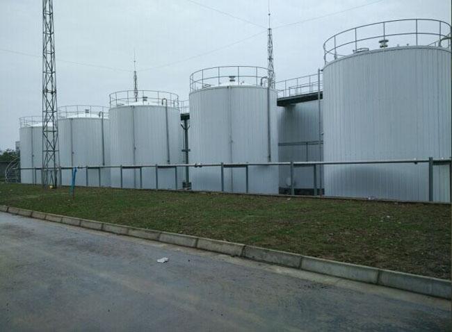 崇州油漆厂罐体保温工程