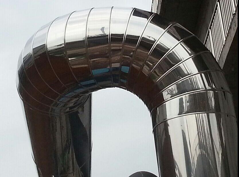 广安万搏体育化工管道不锈钢保温工程