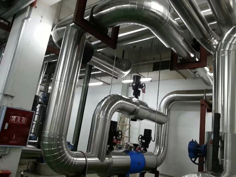 崇州携程办公楼空调系统保温工程