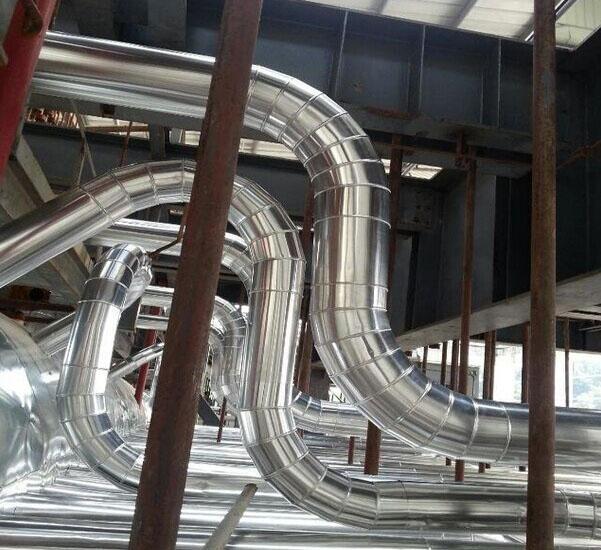 张家口重庆万州垃圾发电厂管道保温工程