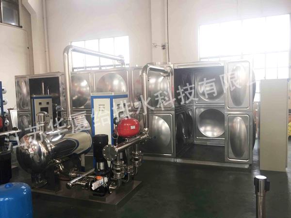 一体化地埋式箱泵水箱