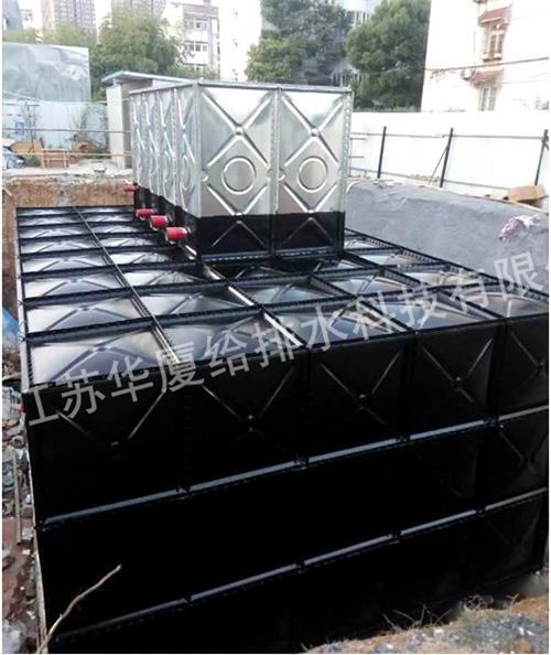 抗浮地埋式箱泵水箱