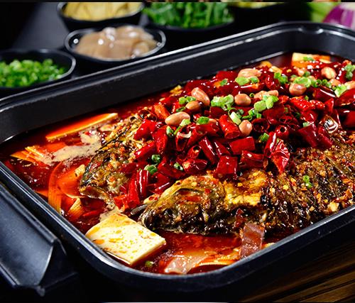 香辣味烤鱼