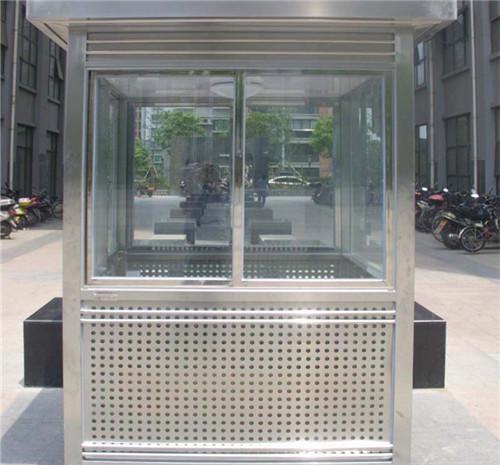 南京不锈钢岗亭制作