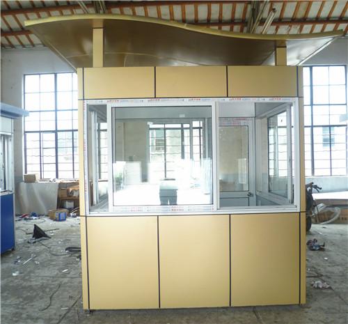 南京铝塑板岗亭生产