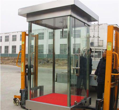南京玻璃岗亭