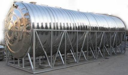 卧式不锈钢保温水箱