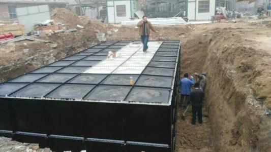 地埋式箱泵一体化泵站