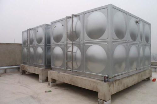 140吨箱泵一体化水箱