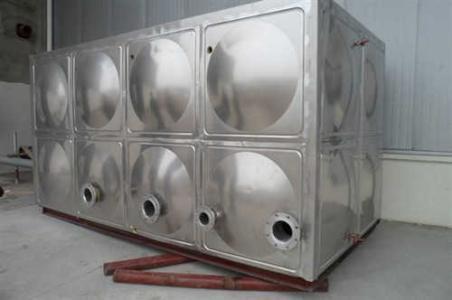 智能箱泵一体化水箱不锈钢螺栓装配式水箱 装配式不锈接水箱美观大方