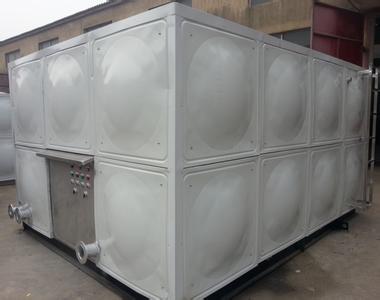 安装地理式箱泵一体化水箱