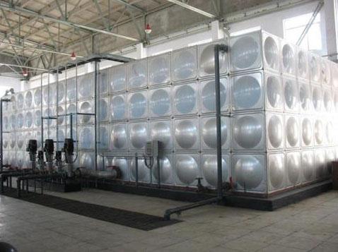 组合式不锈钢水箱制作