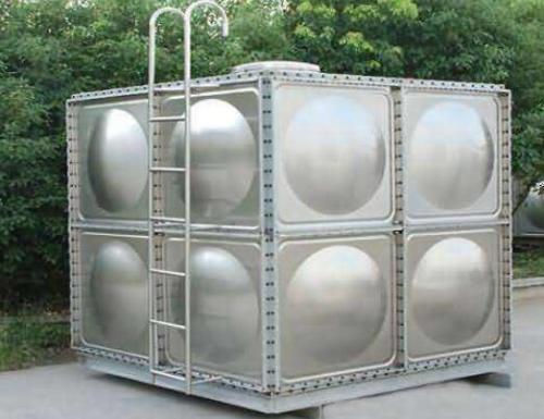 組合式不�袗�水箱安裝