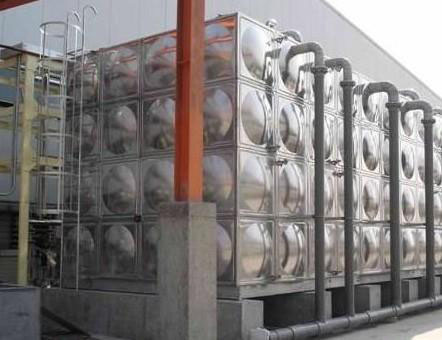 组合式不锈钢板集水箱