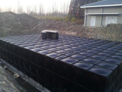 地埋式箱泵一體化消防給水泵站