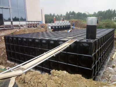 抗浮式地埋式箱泵一體化