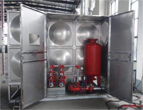 18吨箱泵一体化水箱