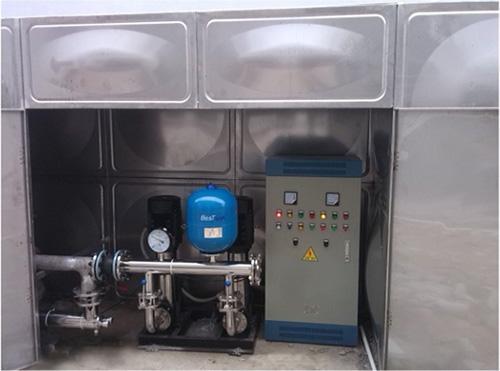 标准箱泵一体化水箱