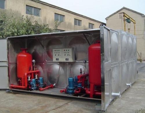 地埋式bdf箱泵一體化水箱