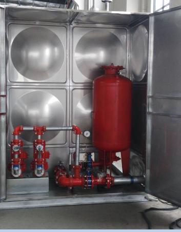 抗浮式箱泵一體化水箱