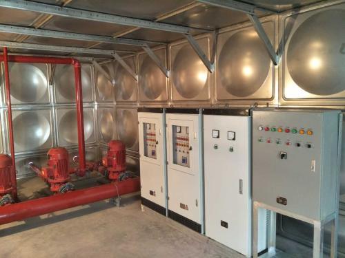 屋頂箱泵一體化水箱