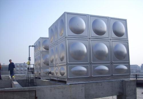 1吨装配式不锈钢水箱