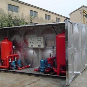 抗浮地埋式箱泵一体化
