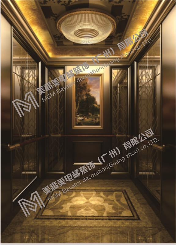 四川电梯扶手装饰