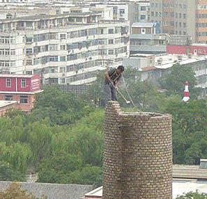 混凝土烟囱拆除