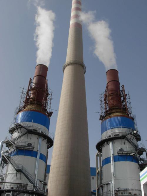电厂烟囱维修