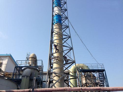 烟囱烟道防腐工程
