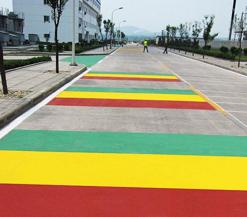 贵州彩色防滑路面施工
