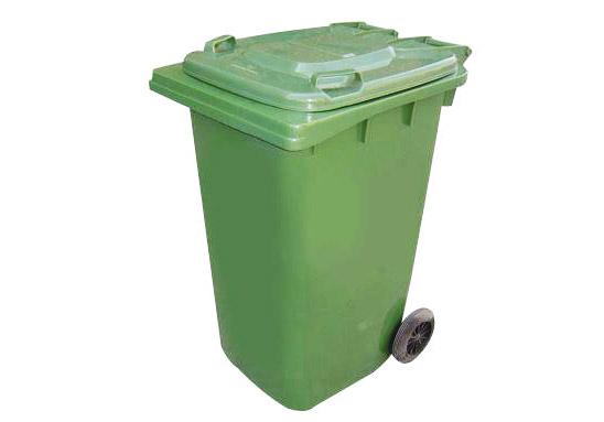�F州街道垃圾桶