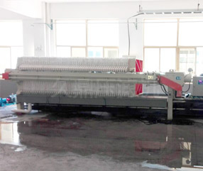 隔膜污泥压滤机昆山现场