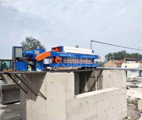 污泥压滤机砂石废水处理