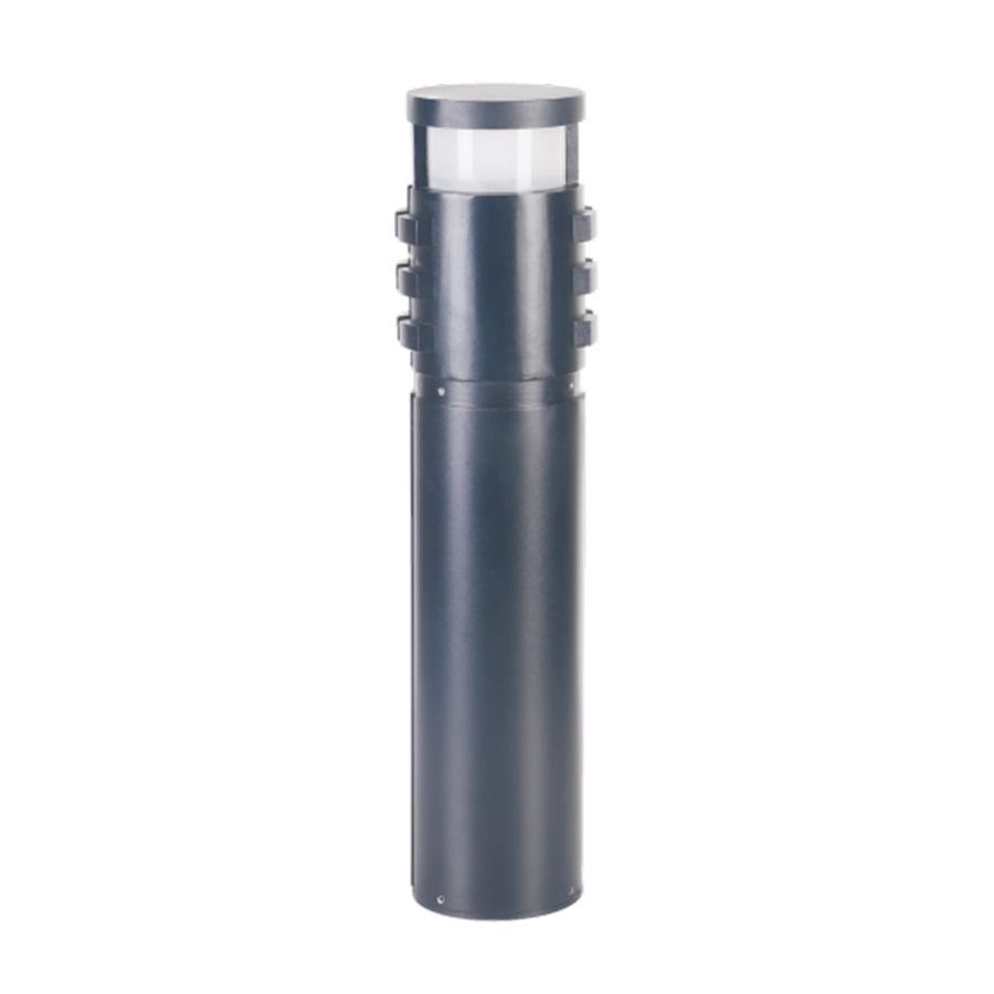 小区柱形黑色LED草坪灯