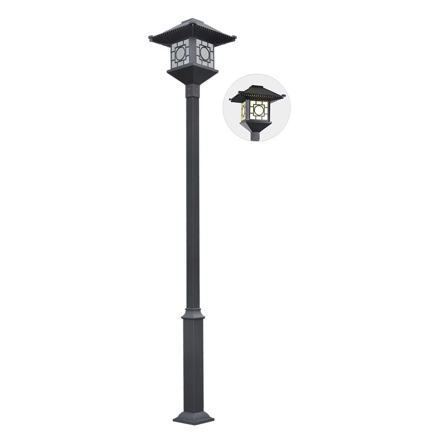 黑色中式古典庭院灯