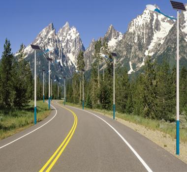 太阳能路灯 户用光伏发电站