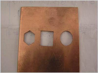 銅板激光切割