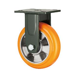 重型固定双轴塑芯PU轮