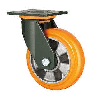 重型活动双轴塑芯PU轮
