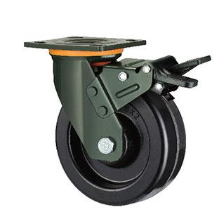 重型活动双刹双轴高温酚醛轮